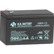 BB HR9-12FR Lead Acid Battery 12V 9A