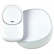 Mercury Wireless Plug-in Doorbell White 350.310UK