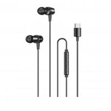 Awei TC-1 Type-C Wired Earphones 1m Black