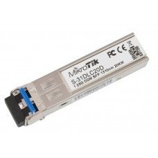 MikroTik S-31DLC20D 1.25G SFP Transceiver Dual LC 20km SM