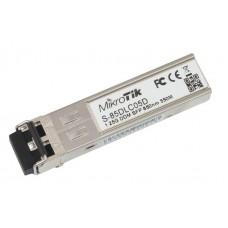MikroTik S-85DLC05D 1.25G SFP Transceiver Dual LC  550m MM