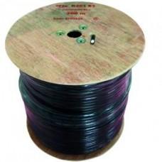 FTE K403B3 Coaxial Cable RG11 Black 300m