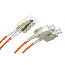 Fiber Patch Cord LC/-SC MM 50/125UM Duplex OM2 2.0m
