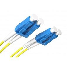 Fiber Patch Cord LC/UPC-LC/UPC SM 9/125 Duplex 1.0m