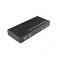 DigitMX DMX-KVM21HD USB HDMI KVM Switch 2-Port Auto
