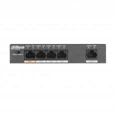 Dahua PoE Switch 4port +1UP 58W PFS3005-4ET-60