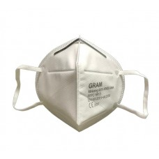 Gram KN95 FFP2 5 Layer Protective Mask with Activated Carbon filter