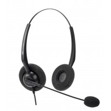 VT 1000-OMNI Dual-Ear IP Phone Headset RJ9
