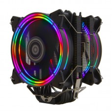 Alseye H120D CPU Cooler PWM 4 Pin  with 6 Heat Pipes and Dual Fans