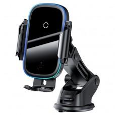 Baseus QI Wireless Car Charger/Mount 15W Black