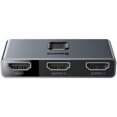 Baseus Matrix HDMI Splitter (2in1 or 1in2) Space Grey