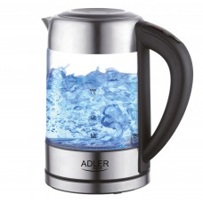 Adler AD1247 Glass Kettle 1.7L 2200W with Temperature Control