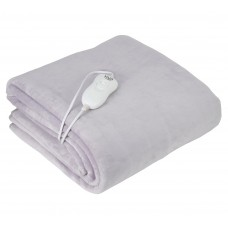 Adler AD7425 Single Electric Heating Blanket 60W with Coral Fleece
