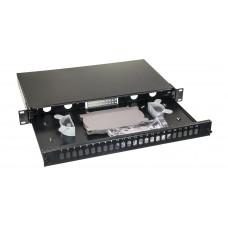 Opton Fiber ODF for 24 Adapters RackMounted Metal