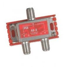 FTE AS2 Splitter 1-2 5-2400mhz Class A