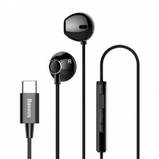 Baseus Encok C06 Type-C Wired Earphones Black