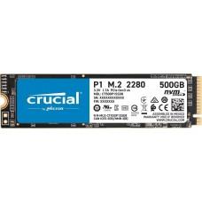 Crucial P1 3D NAND NVMe M.2 SSD 500GB