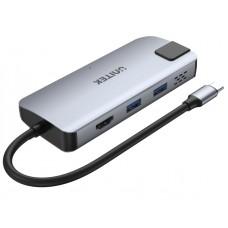 Unitek D1028A Type-C Hub 2x USB3.2 HDMI/Gb/PD100W