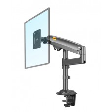 NBMounts H100 Desktop Single Monitor Mount Black