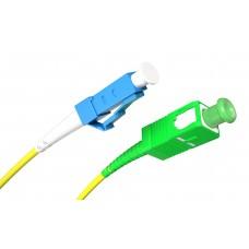 Fiber Patch Cord SC/APC-LC/UPC SM Simplex 15.0m