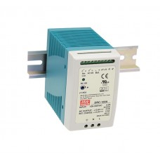 Meanwell DRC-100A DIN Rail Power Supply with UPS Function 12V 100W