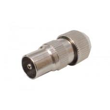 AV:Link Metal Coaxial Plug Male 765.539UK