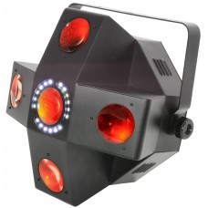 QTX Collider LED Moonflower with Strobe 150.470UK
