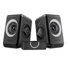 Sonicgear Quatro2 2.0 USB Powered PC Speakers Grey 12W
