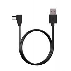 Alcatroz 90 Degrees Micro USB Cable 1.0m Black