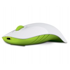 Alcatroz Air Shark Wireless Rechargeable Mouse White/Green