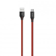 Awei CL-55 Braided Micro-USB Cable 1.5m Red