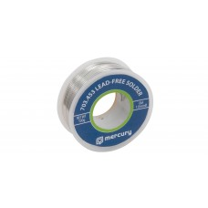 Mercury Lead-free Solder 1mm 100g 703.453UK
