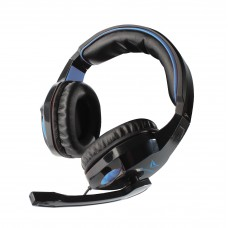Alcatroz Alpha MG-300 Gaming Headset Black-Blue