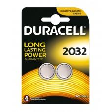 Duracell CR2032 Lithium Batteries 2pcs 656.995UK