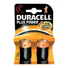Duracell Plus Power Battery C 2pcs 656.957UK
