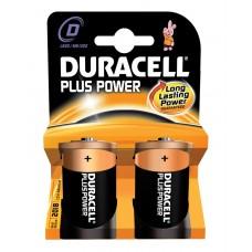 Duracell Plus Power Battery D 2pcs 656.958UK