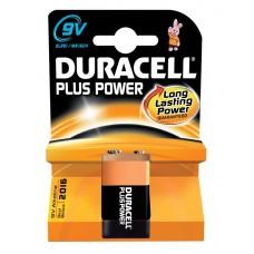 Duracell Plus Power Battery PP3 9V 656.959UK