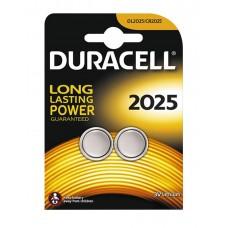 Duracell Lithium Battery CR2025 2pcs 656.997UK