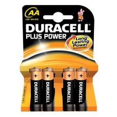 Duracell Plus Power Battery AA 4pcs 656.955UK
