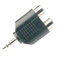 3.5mm Plug - 2 Phono Socket 759.490UK (Bag)