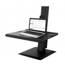 NBMounts BT15 Sit Stand Workstation Black